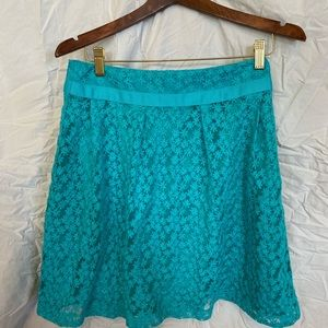 A line lace skirt